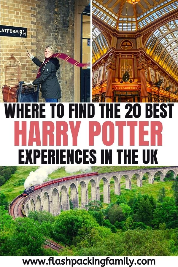 Where to find the 20 Best Harry Potter Experiences in the UK