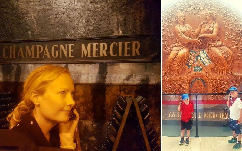Audio tour of Mercier Champagne house