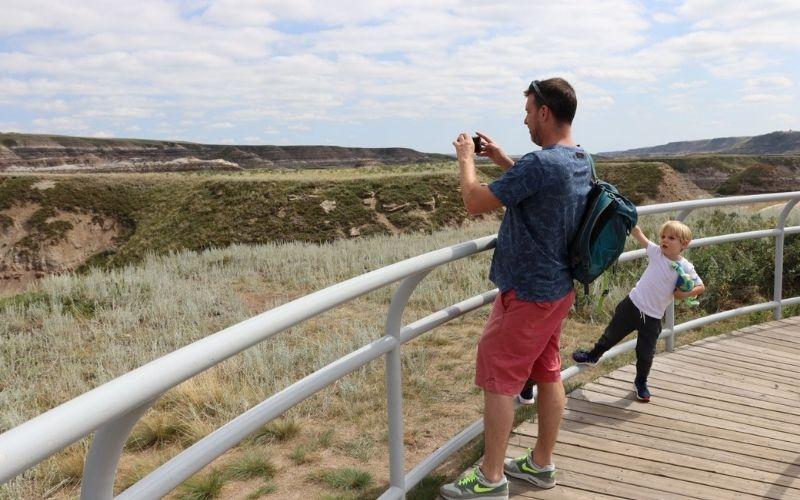 Badlands Interpretive Trail Drunheller