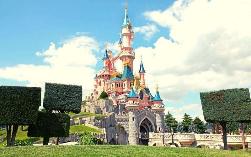 Cinderella Castle at Disneyland Paris