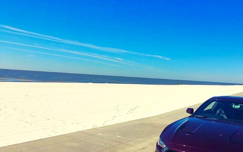 Coastal Mississippi beach