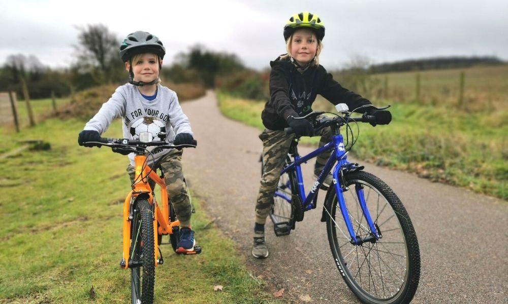 Happy boys on their Frog Bikes