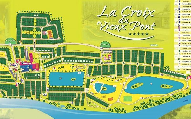 La Croix du Vieux Pont map