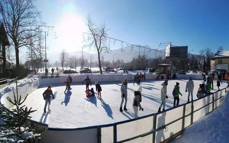 Lodowisko Tafla ice rink in Zakopane