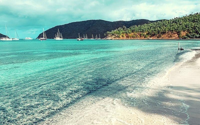 Maho Bay in the US Virgin Islands