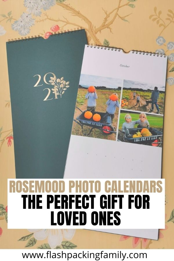 Rosemood Photo Calendars The Perfect Gift for Loved Ones