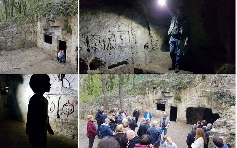 Soissonais Caves at Berny Rivière