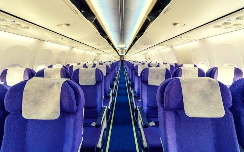 empty seats on a plane