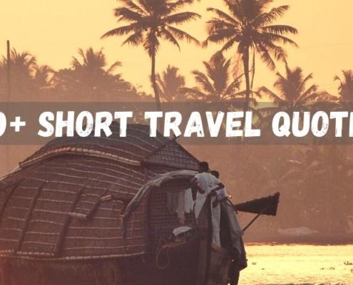 70+ Short Travel Quotes