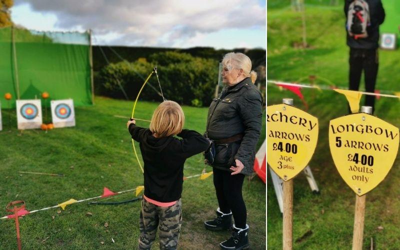 Archery at Leeds Castle