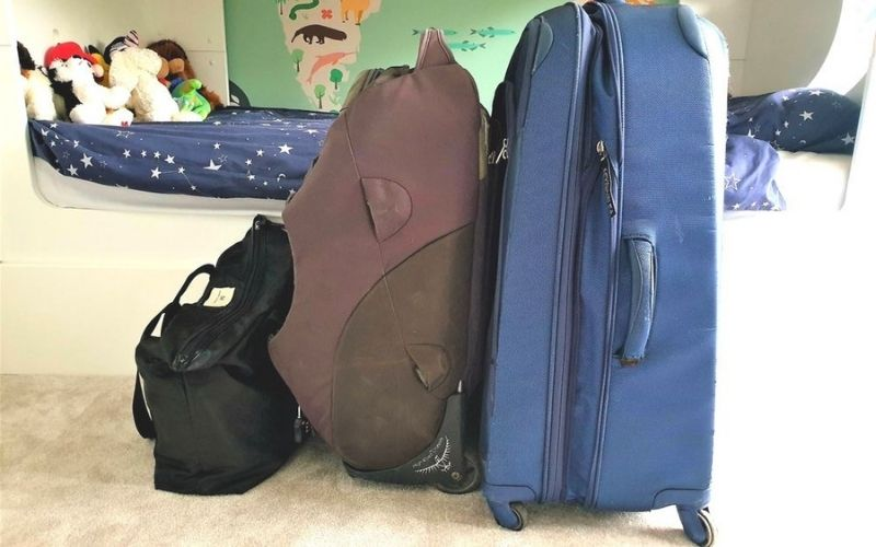 Family of 4 luggage for 4 weeks