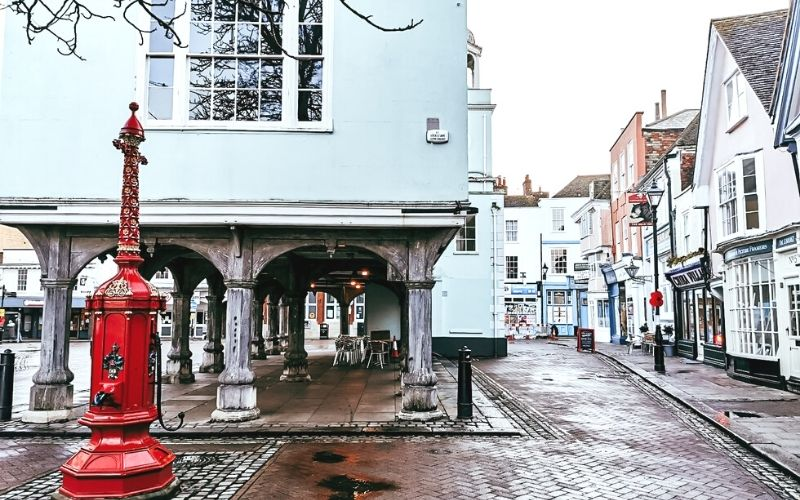 Faversham town centre