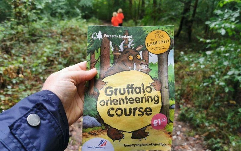 Gruffalo Trail at Bedgebury Pinetarium