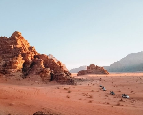 Jeep tour of Wadi Rum