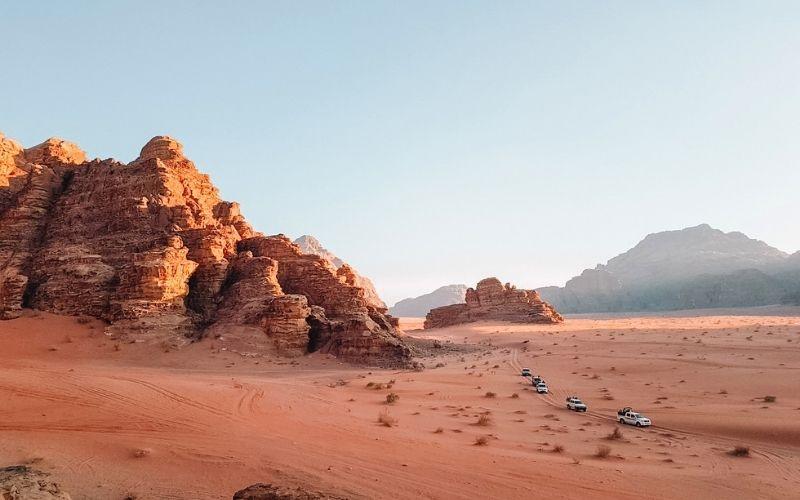 Jeep tour of Wadi Rum