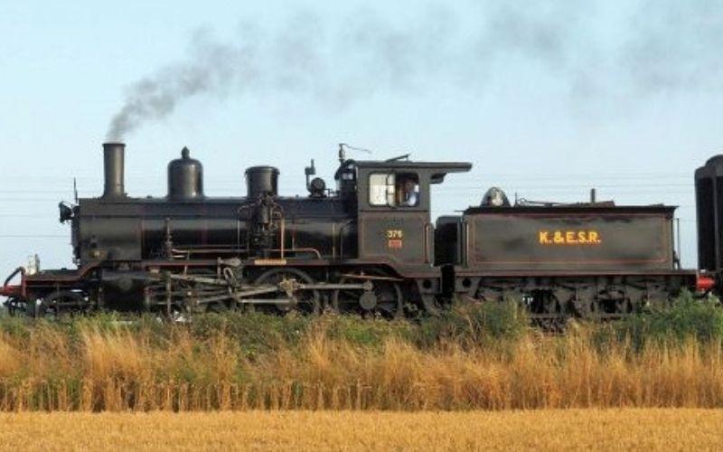 Kent & East Sussex Railway Steam Train