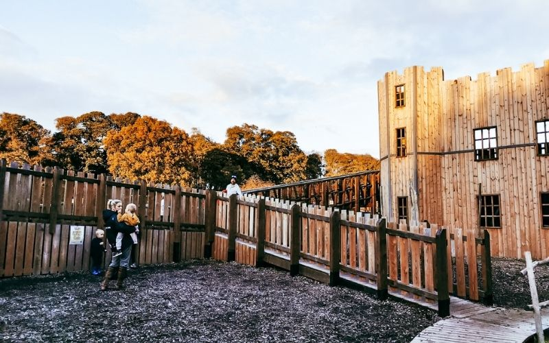 Knights' Stronghold playground at Leeds Castle