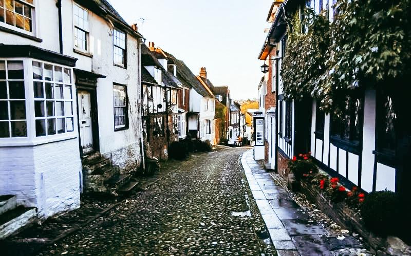 Mermaid Street in Rye