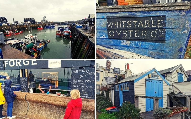 Sights and sounds of Whitstable in Kent