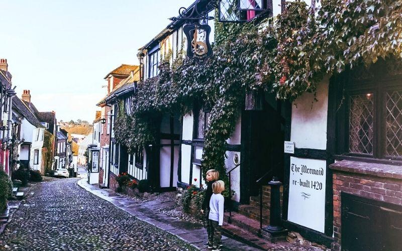 The Mermaid Inn in Rye