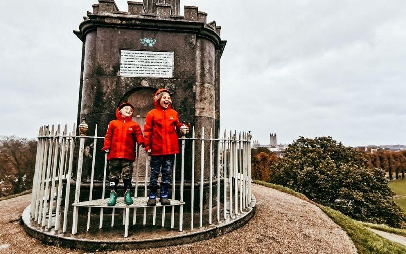 Top of The Dane John Mound in Canterbury