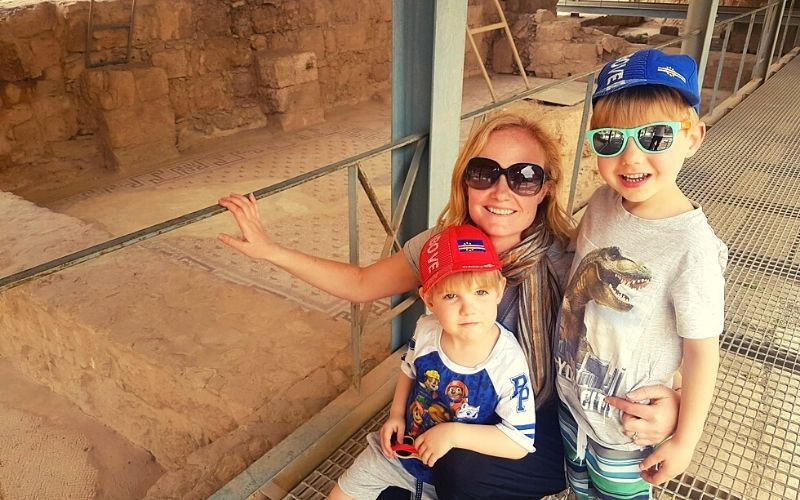 Visiting the Madaba Archaeological Museum