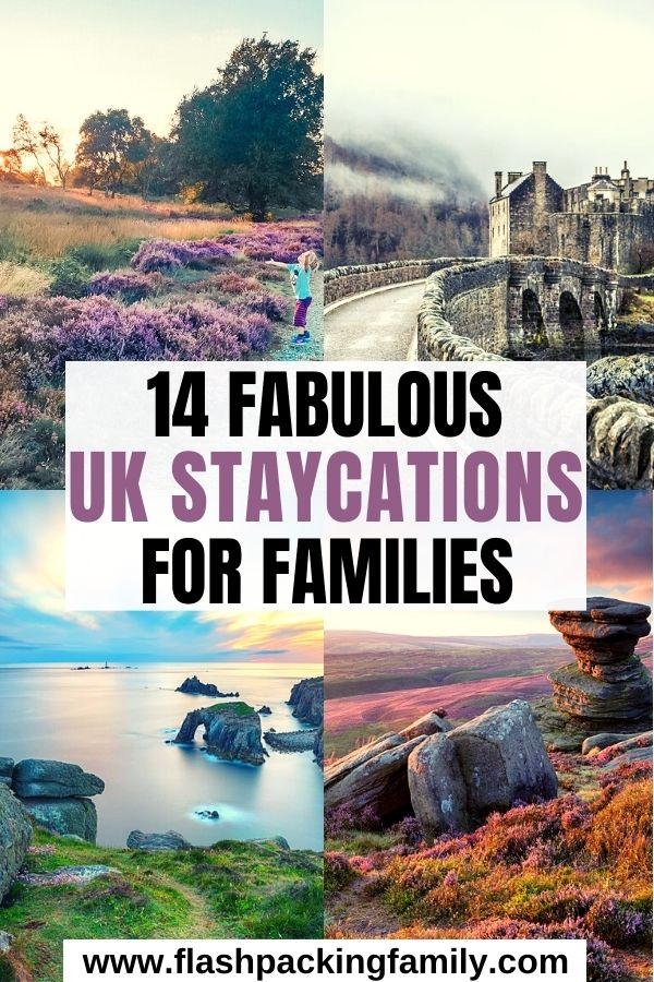 14 Fabulous UK Staycations For Families.