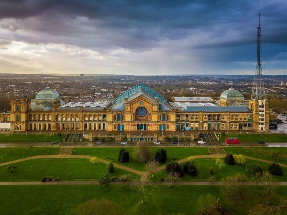 Alexandra Palace.