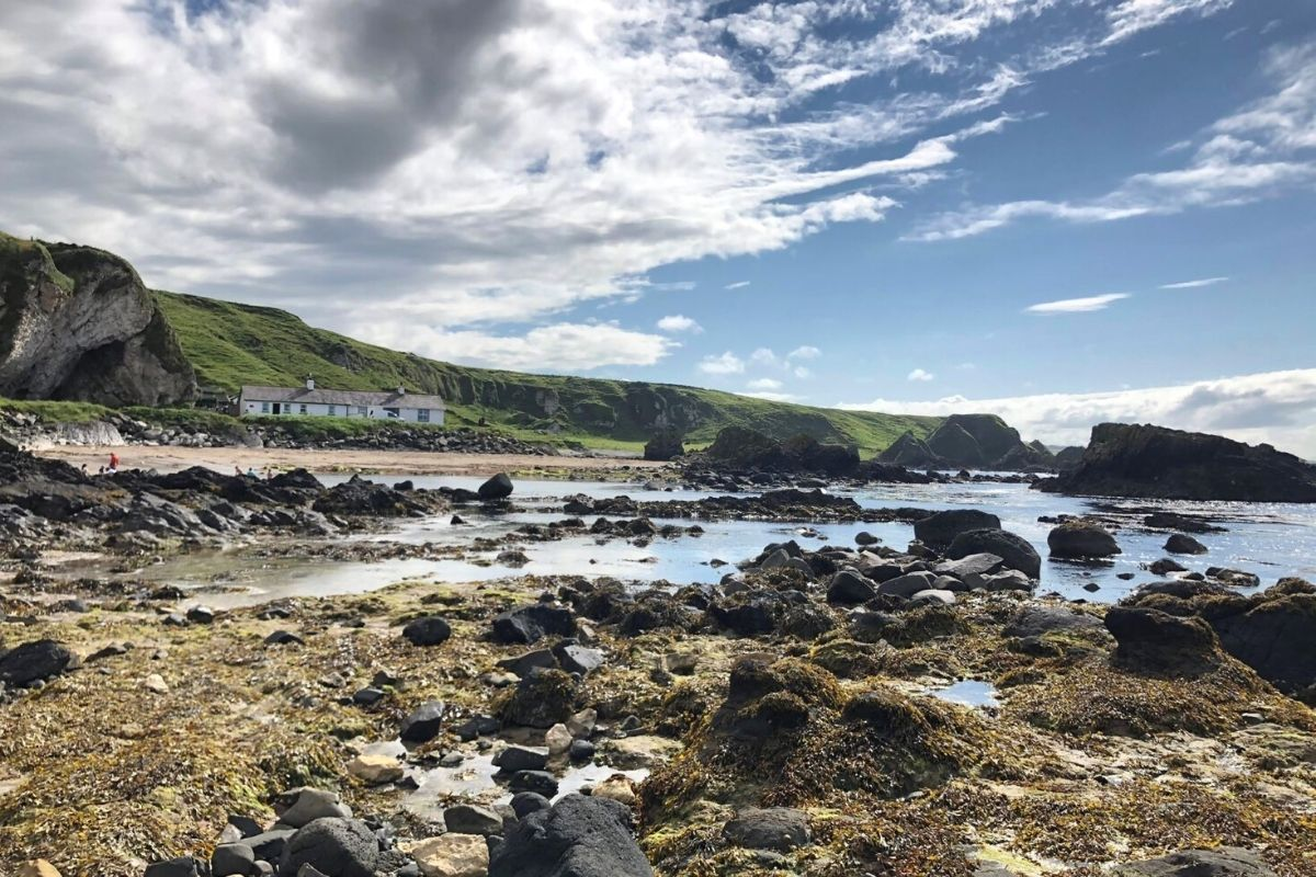 Ballintoy Harbour in County Antrim