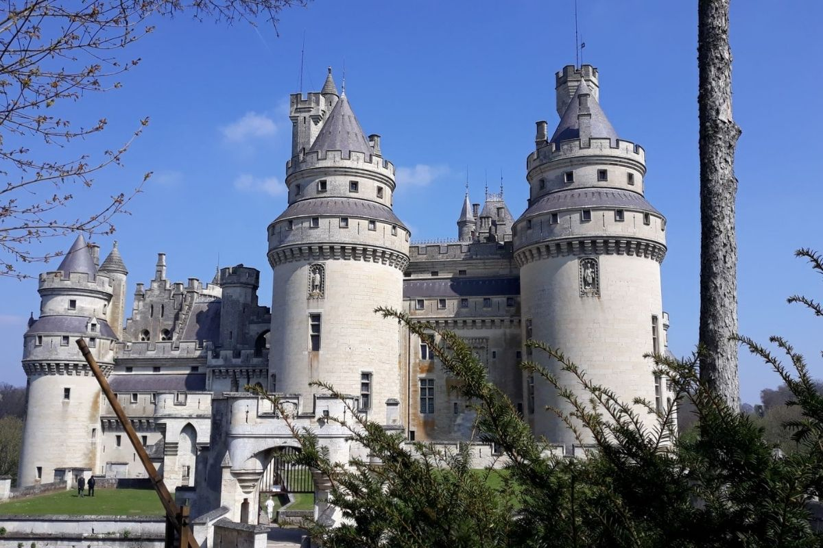 Chateau de Pierrefonds.