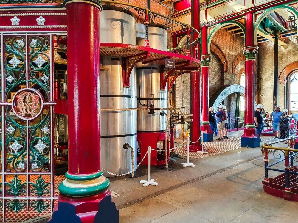 Crossness Pumping Station.