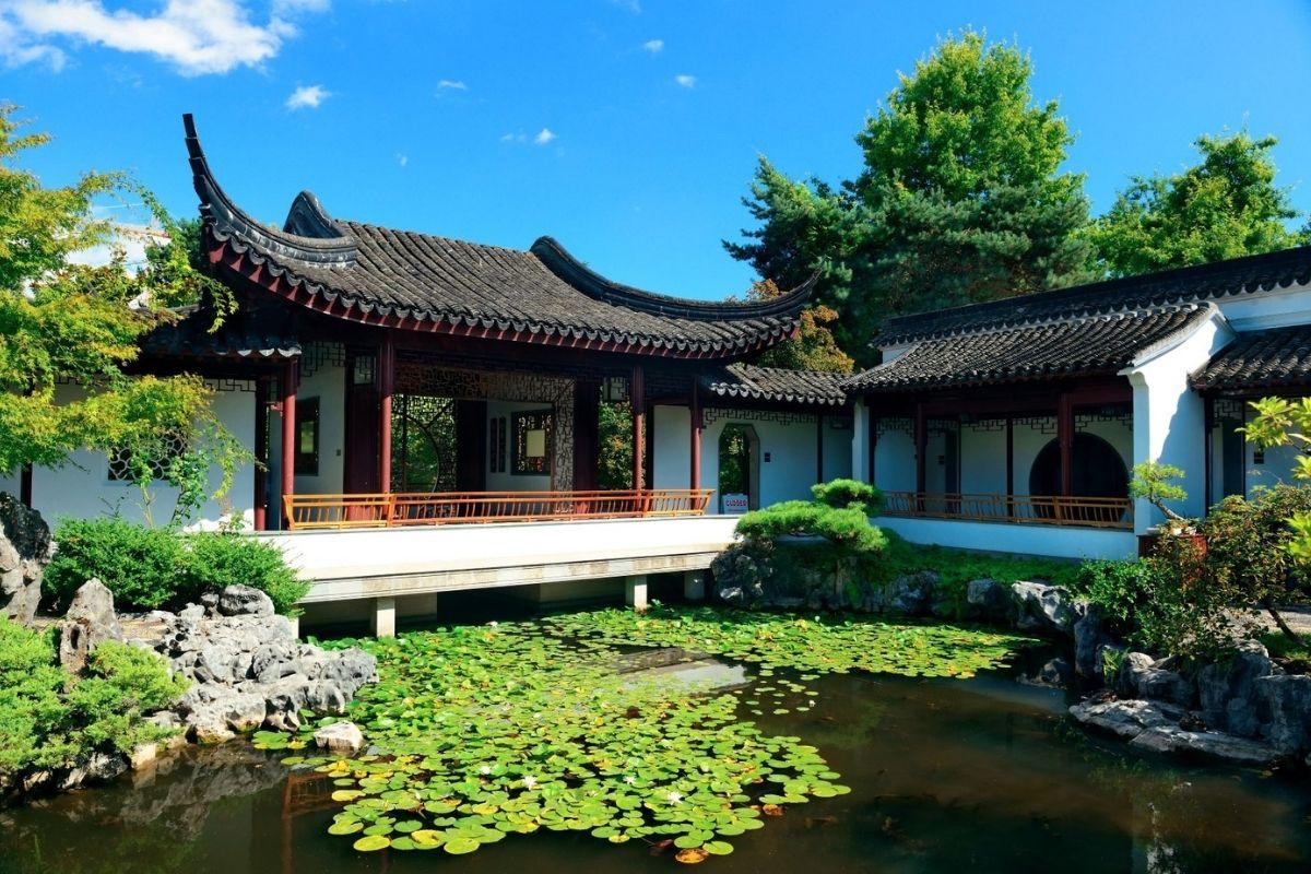 Dr Sun Yat Sen Garden in Vancouver's Chinatown.