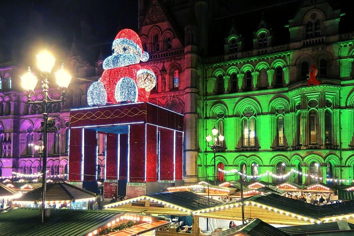 Manchester Christmas markets.