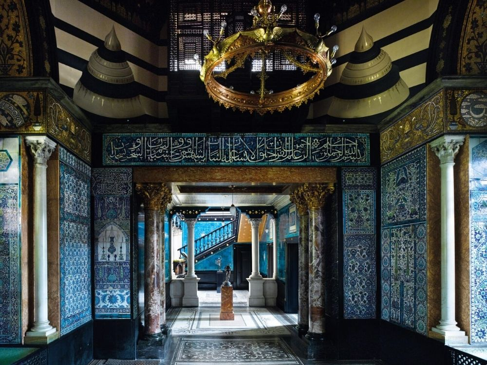 Narcissus and Arab Hall at Leighton House Museum Image Credit Will Pryce.