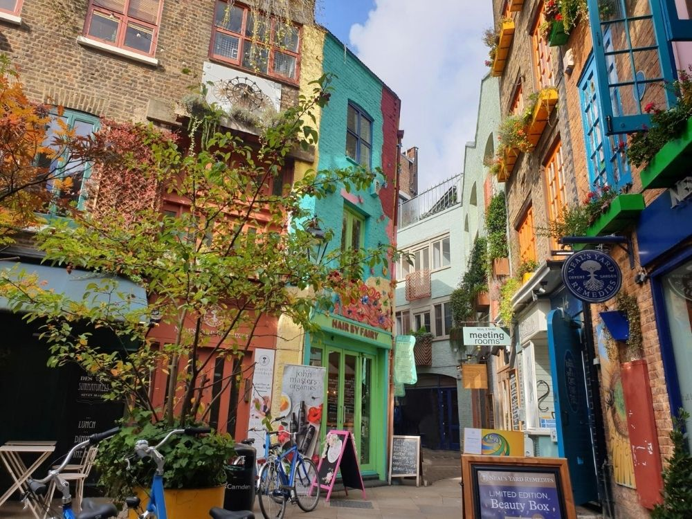 Neal's Yard in Covent Garden.