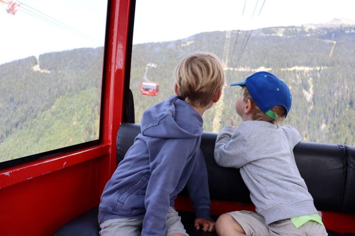 Peak2Peak Gondola in Whistler.