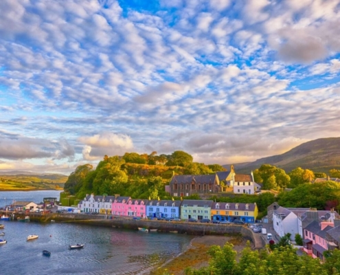 Portree on the Isle of Skye.
