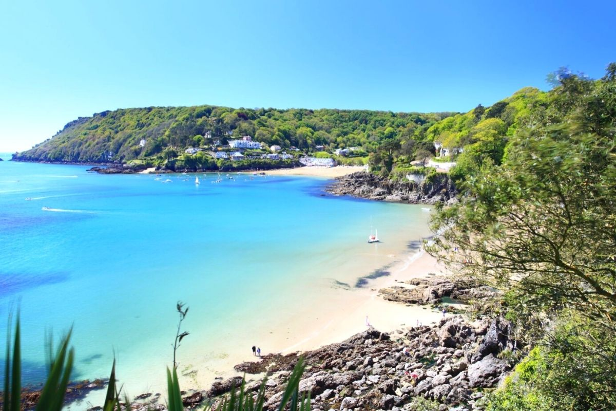 Salcombe Beach in Devon