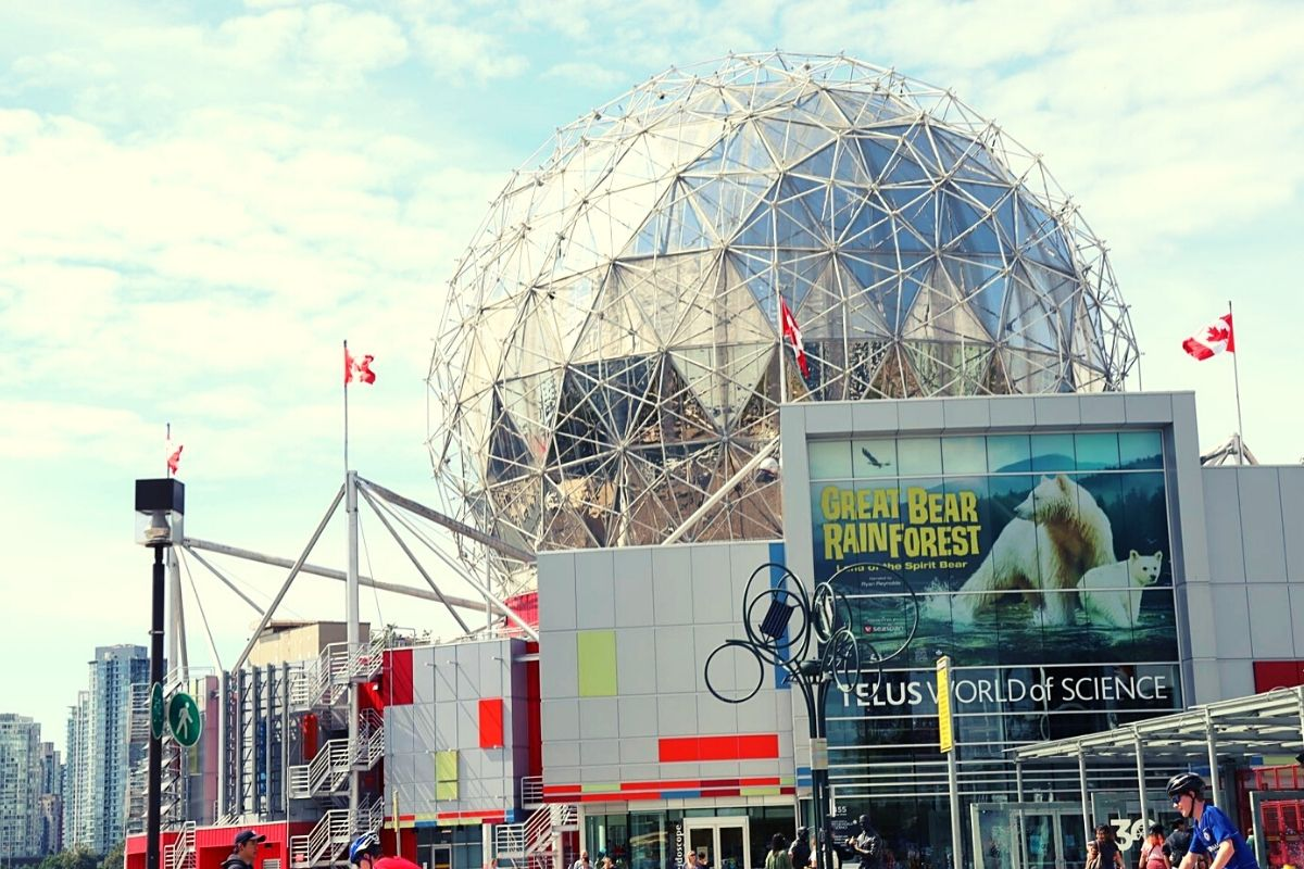 Science World in Vancouver.