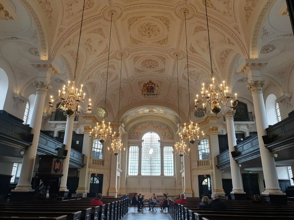 St Martin in the Fields.