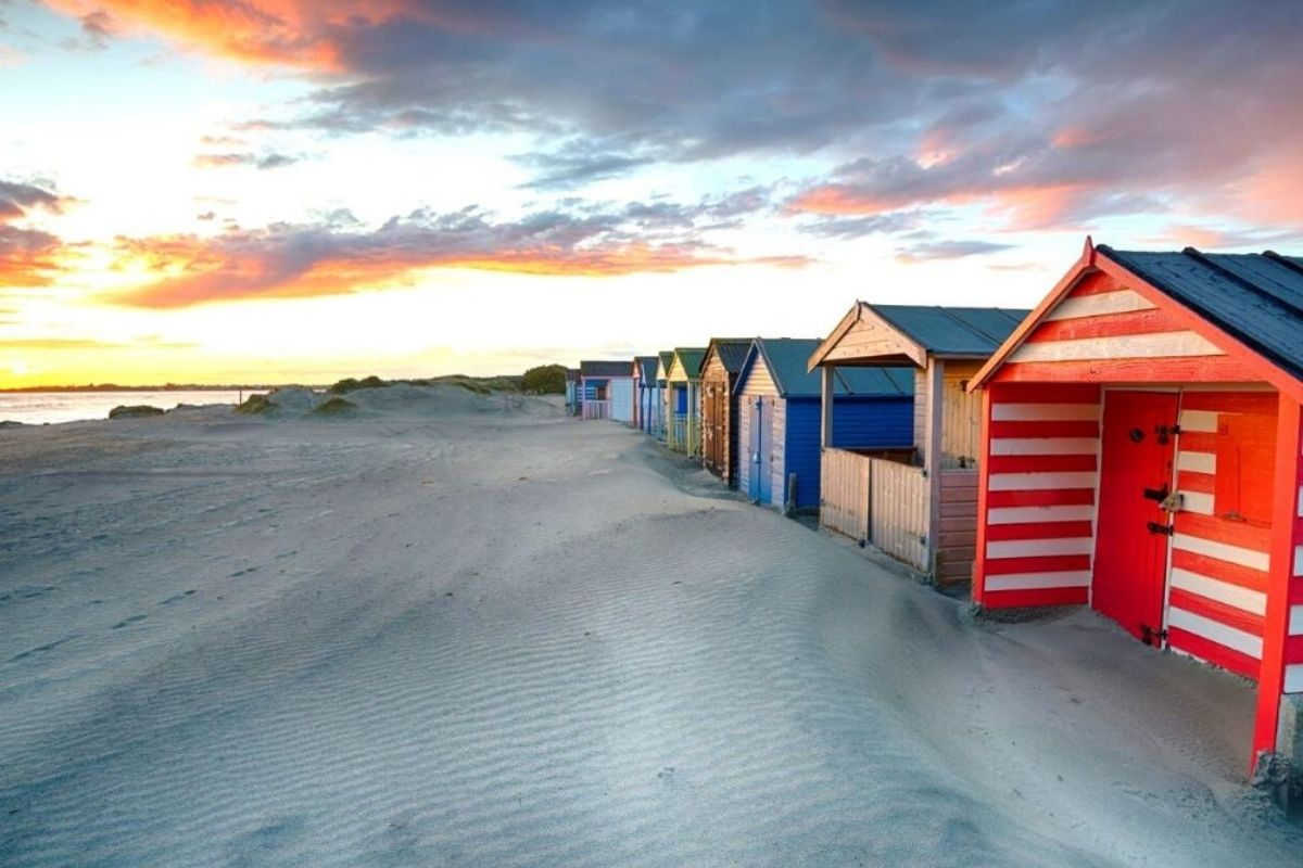 Sunset at West Wittering Beach