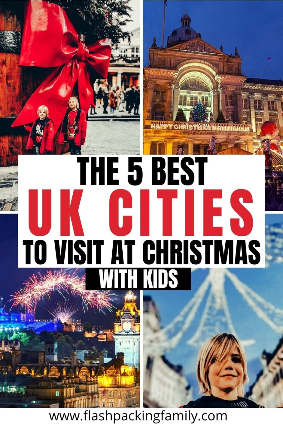 The 5 Best UK Cities to Visit at Christmas with Kids.