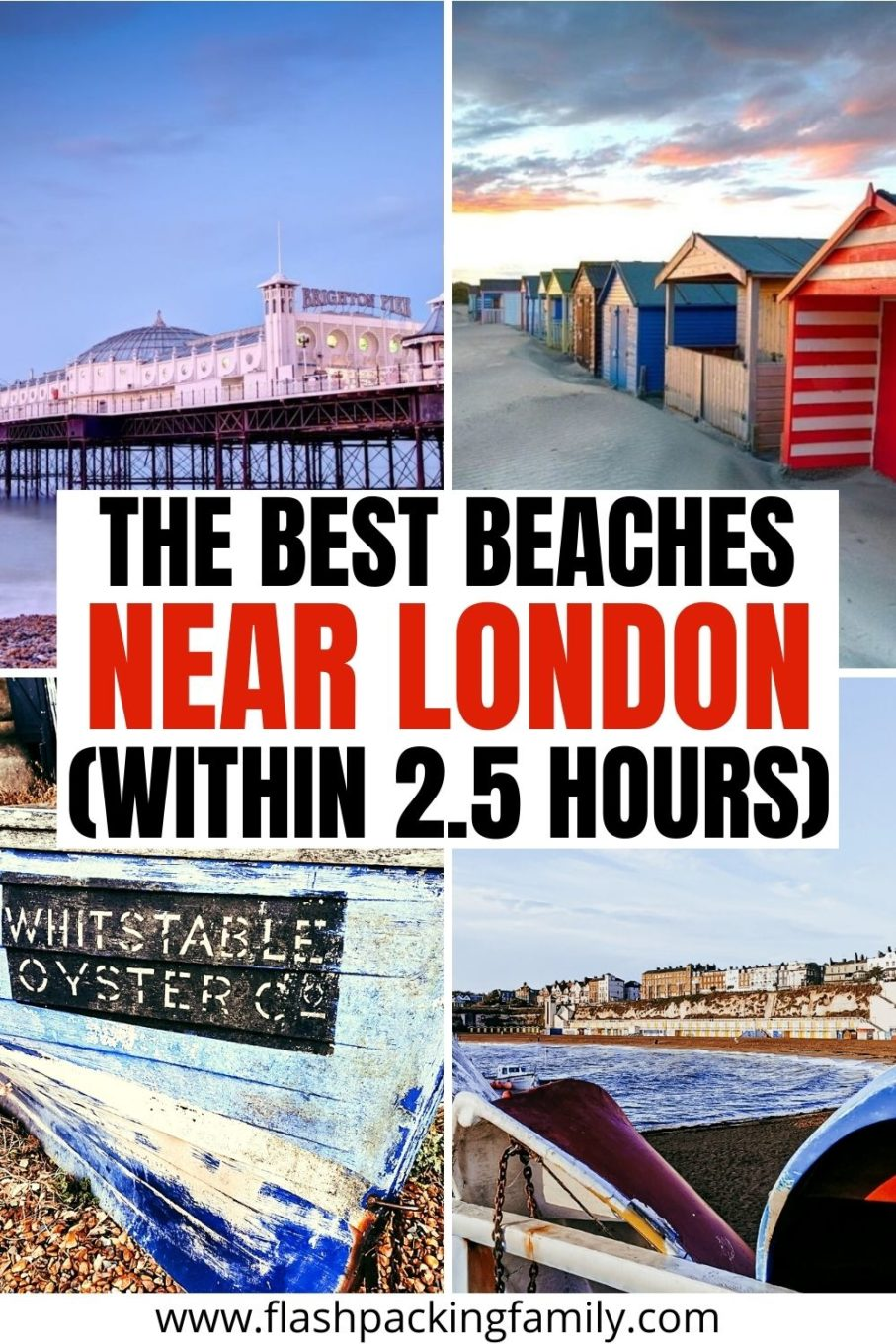 The Best Beaches Near London (Within 2.5 Hours)