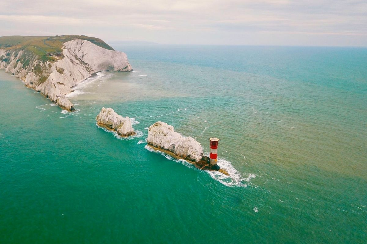 The Needles in the Isle of Wight