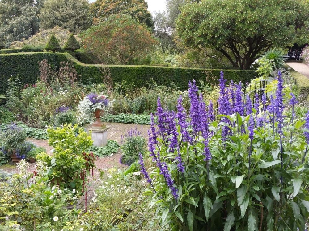 The gardens at Fenton House.