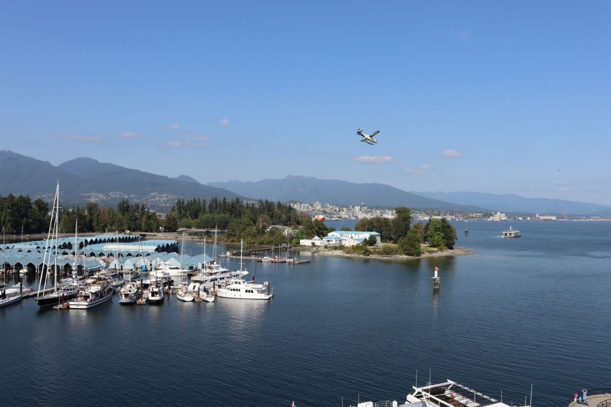 View from the Westin Bayshore Vancouver.