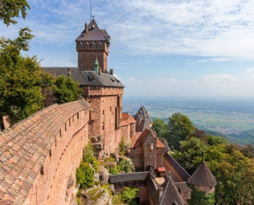 Views from Chateau du Haut Koenigsbourg.