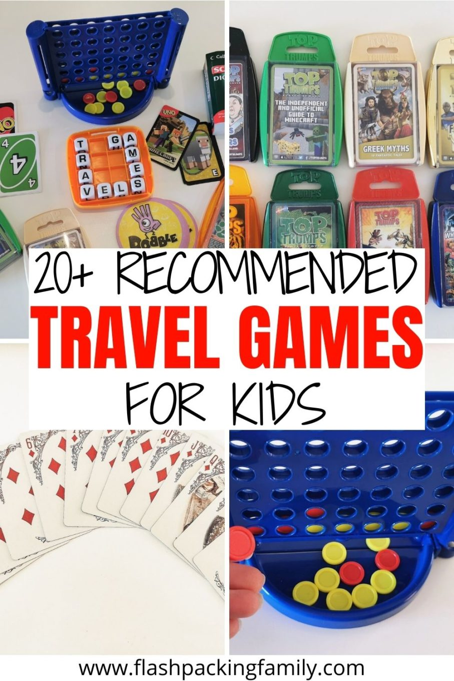 20+ Recommended Travel Games for Kids.