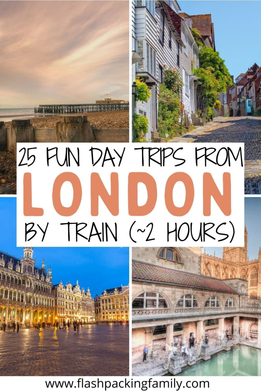 25 Fun Day Trips From London By Train.