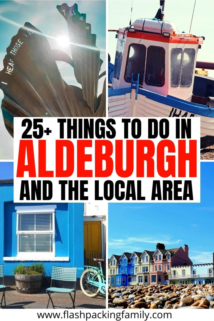 25+ Things to do in Aldeburgh and the local area.